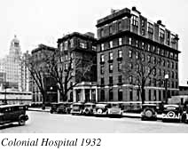 Colonial Hospital, 1932