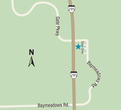 Gate Parkway family medicine map