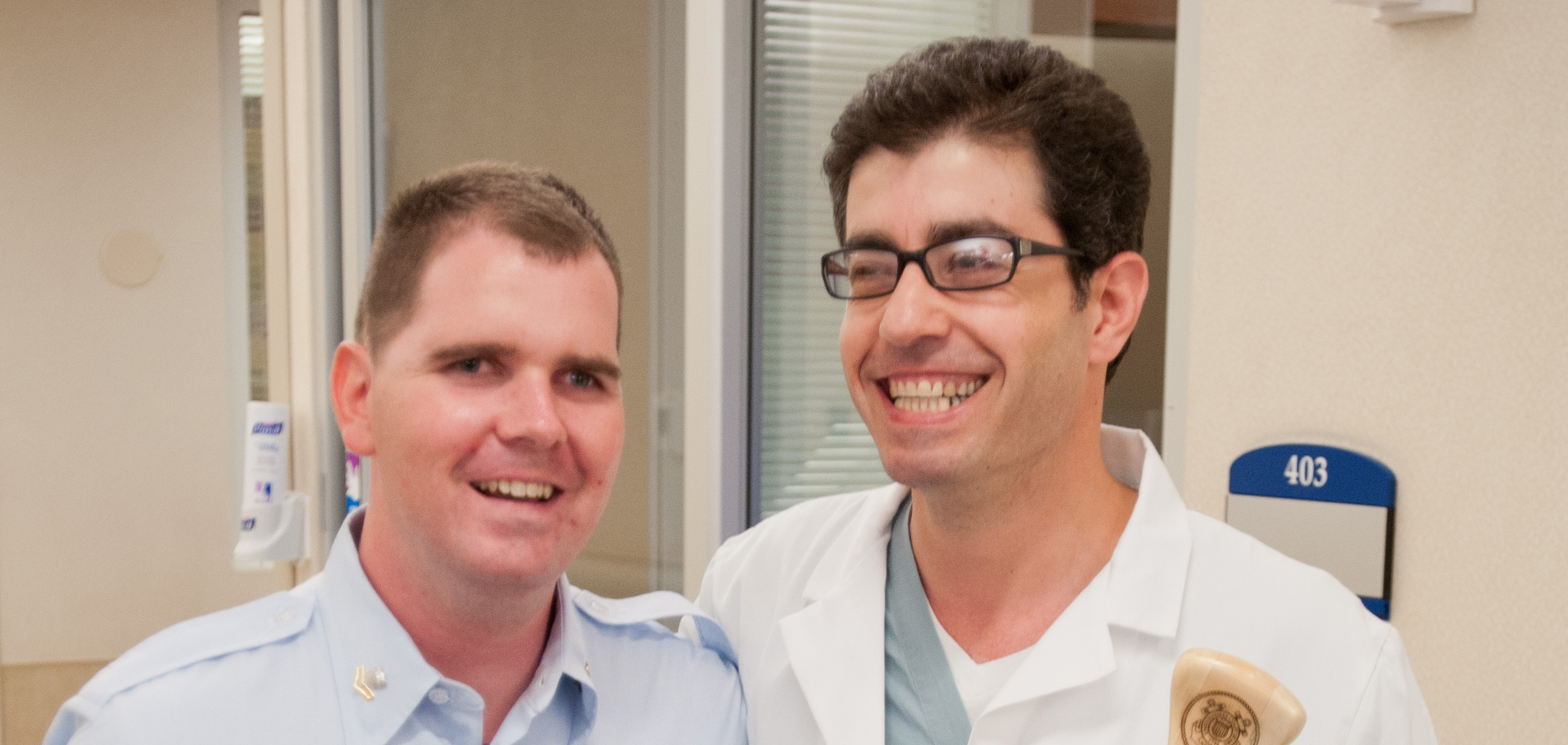 Sean Bretz and Dr. Rahib Tawk