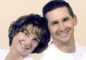 Rob Clary and his wife.