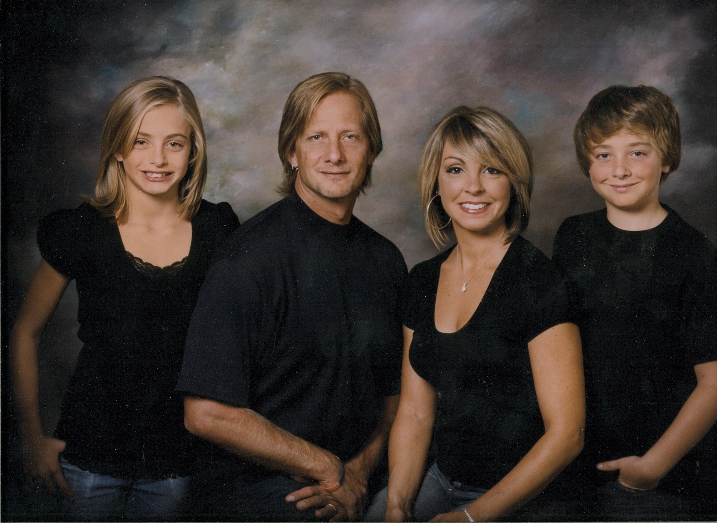 Darrin Nelson and his family