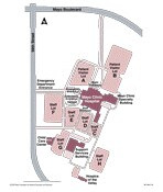 Mayo Clinic Hospital Campus Map