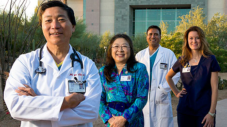 Four Mayo Clinic employees in Arizona