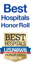 Number 1 hospital in the nation by U.S. News and World Report
