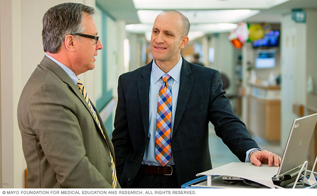 Doctors at Mayo Clinic collaborate to provide integrated care.