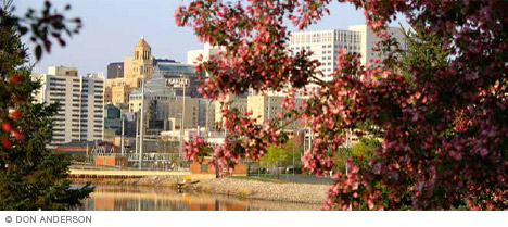 Rochester, Minnesota, downtown skyline
