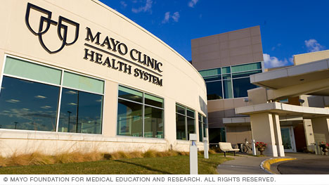 A Mayo Clinic Health System building