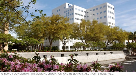 Building at Mayo Clinic, Jacksonville, Florida