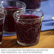 Blueberry lavender lemonade - Mayo Clinic